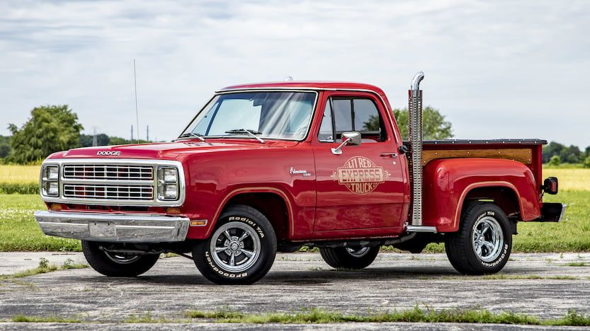 1979 Dodge D150 Lil Red Express K52 Davenport 2019 Vintage