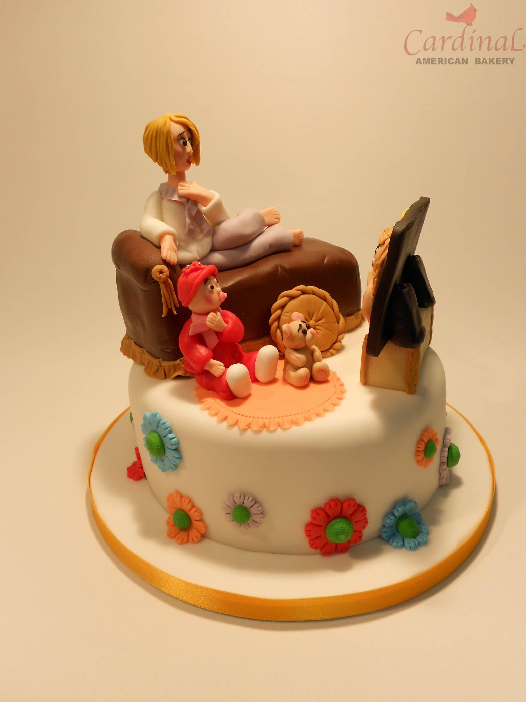 Tarta telenovela / Soap opera cake   Fondant Cakes   Pinterest ...
