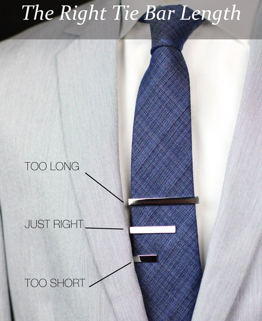 What Is The Right Tie Bar Length? Via Bowsnties