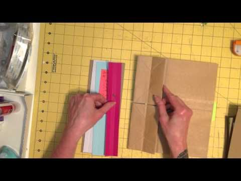 Double Paper Bag Page Mini Album Tutorial, Part 3 of 3