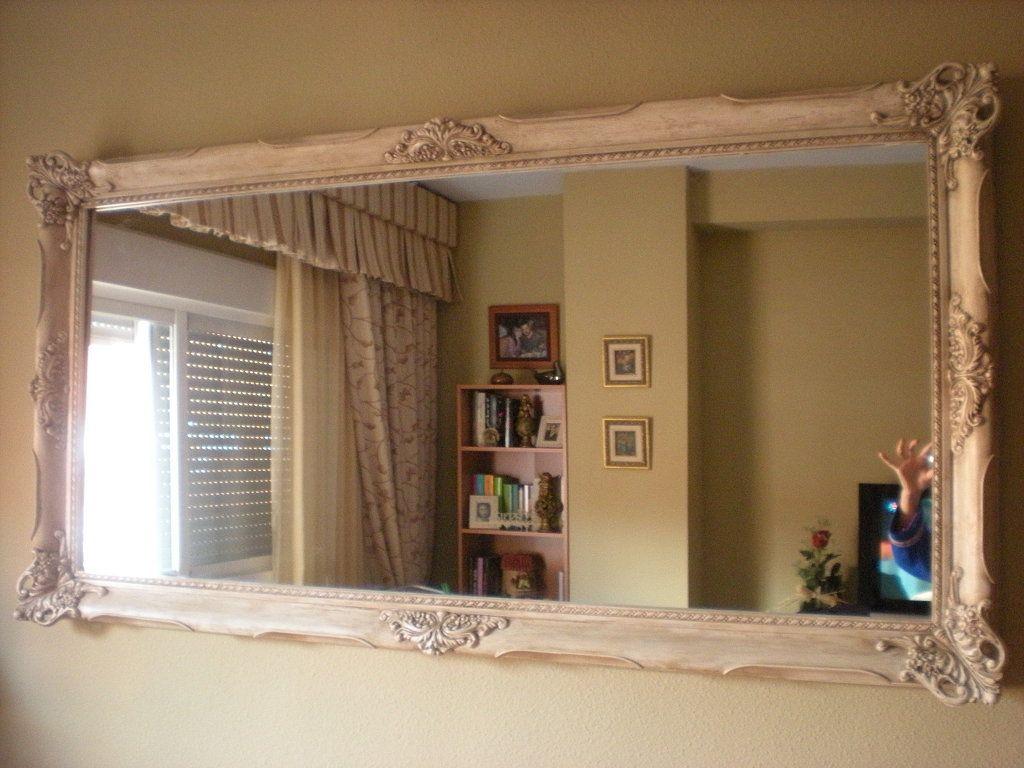 19 15 como hacer marco de espejo facilisimo mejor conjunto - Hacer marcos para espejos ...