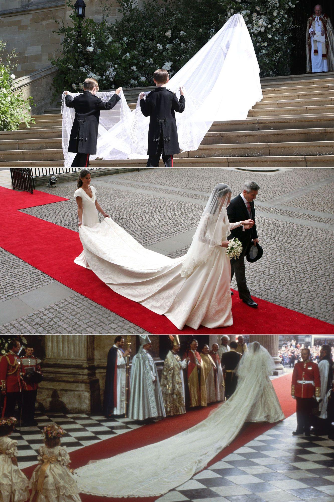 How Meghan Markle, Kate Middleton and Princess Diana's