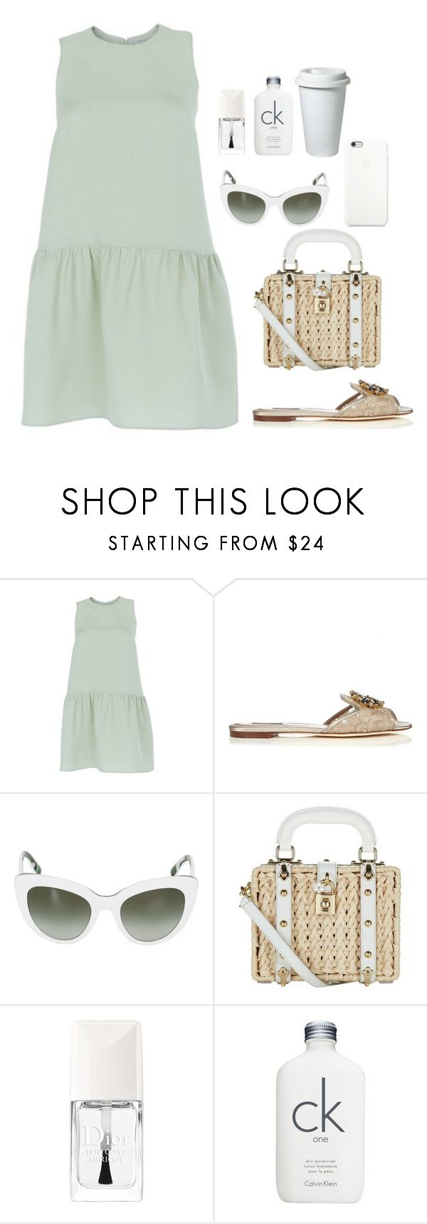 """."" by owl00 ❤ liked on Polyvore featuring Valentino, Dolce&Gabbana, Black Apple, Christian Dior and Calvin Klein"