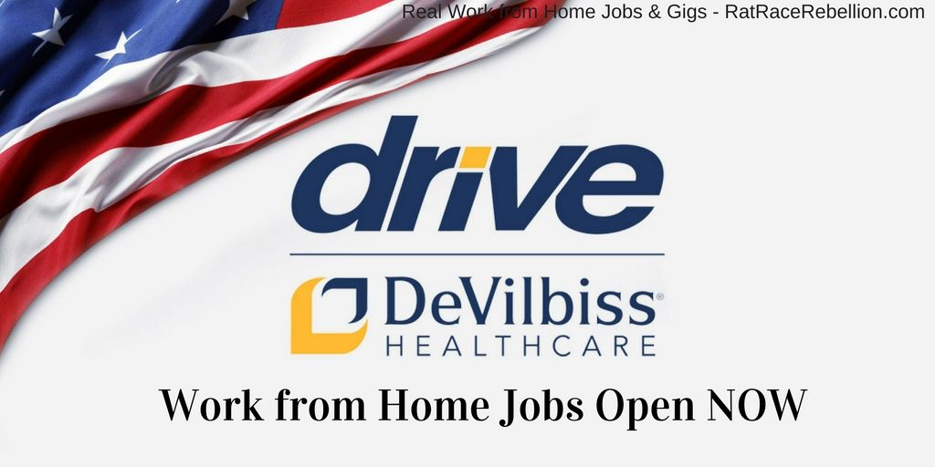 Work from Home Jobs with Drive DeVilbiss Healthcare Open Now