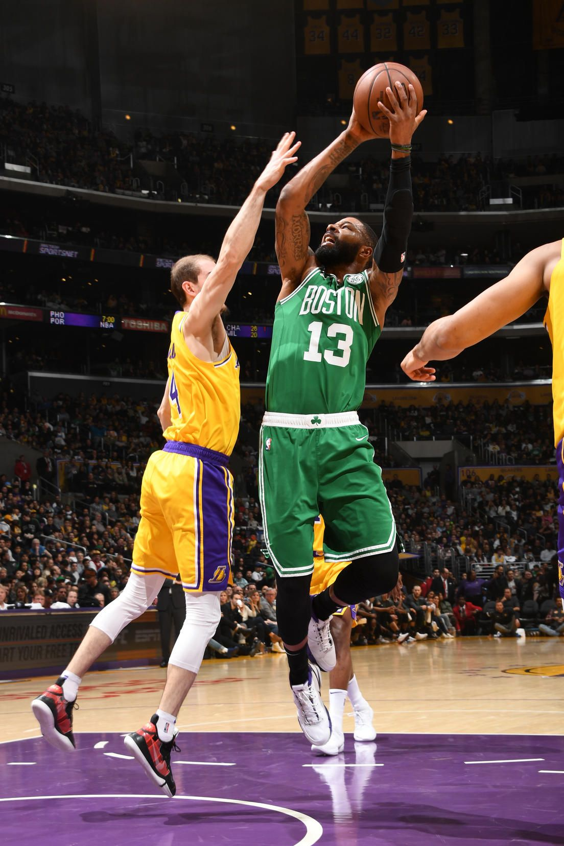 Photos Celtics Vs Lakers Mar 9 2019 Boston Celtics Boston Celtics Celtic Lakers