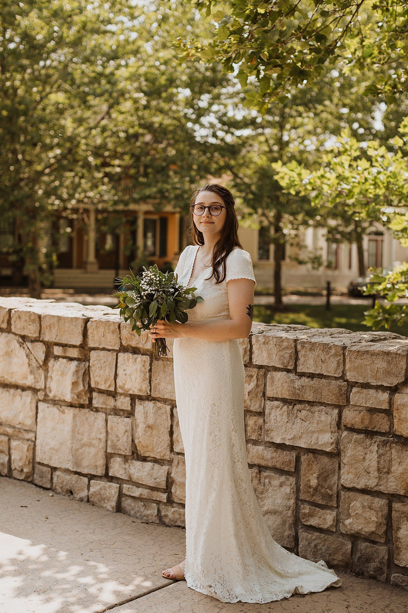 New Town Bride St Charles In 2020 Chapel Wedding Wedding Dresses Sheath Wedding Dress