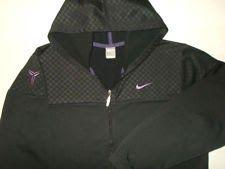 Men s Nike Kobe Bryant Fit Therma Black Mamba Full Zip Hoodie Jacket-Size  2XL 2324cac961