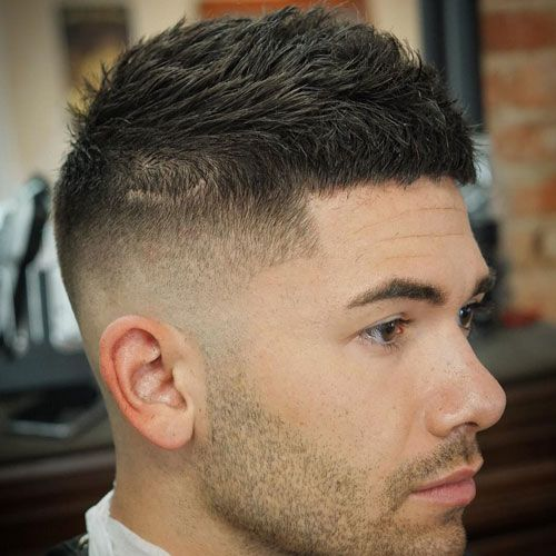 46+ Low maintenance haircuts for men with thick hair inspirations