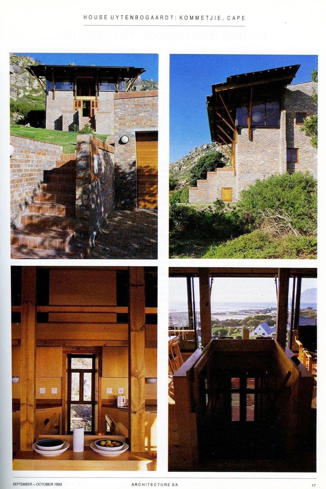Oh Architecture Oh Thursdays House Uytenbogaardt Kommetjie African House Architecture Architecture Details
