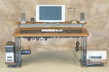 desk after caretta workspace cable management front organize cable management management. Black Bedroom Furniture Sets. Home Design Ideas