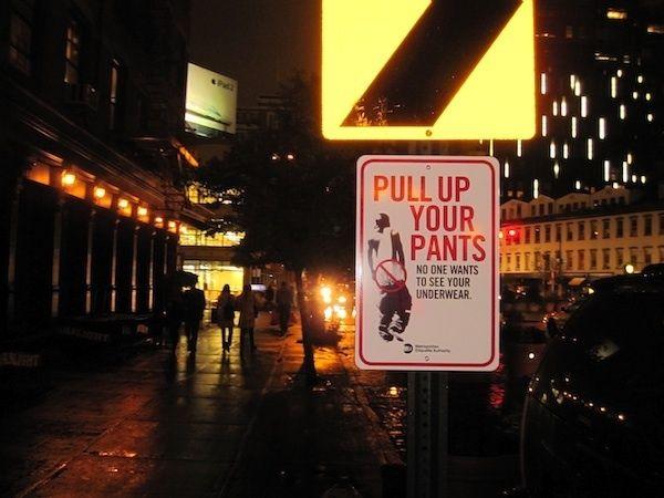 NYC. Prank Signs in New York City // Metropolitan Etiquette Authority Posts