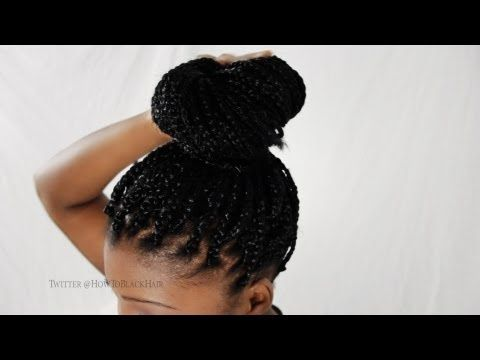How To Do Your Own Single Box Braids On Yourself Fast And In A