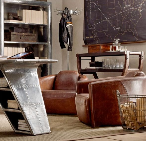 Aviator Furniture Collection By Restoration Hardware 29