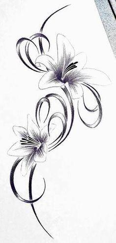 blumen tattoo 20 55 00 1 verbindung pinterest. Black Bedroom Furniture Sets. Home Design Ideas