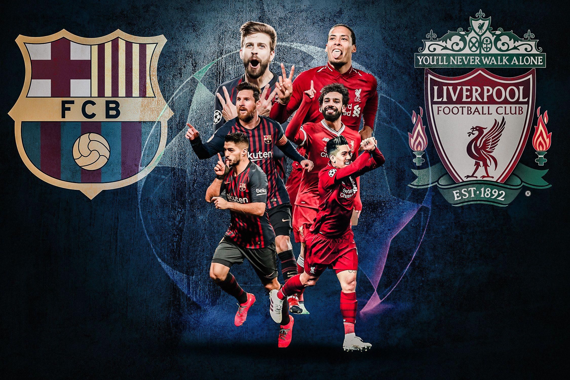 Uefa Champions League Barcelona Vs Liverpool Uefa Champions League Liverpool Uefa Champions League