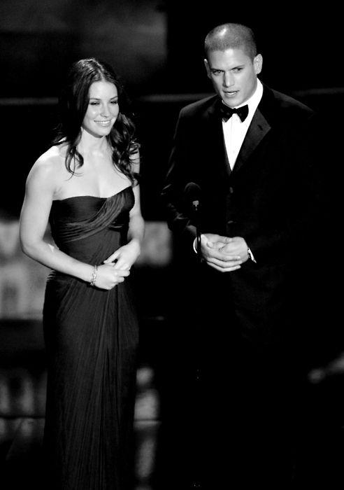 Evangeline Lilly  and Wentworth Miller