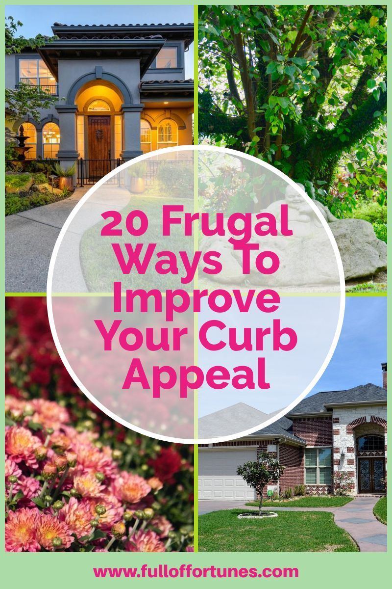 Having a manicured lawn & beautiful curb appeal doesn't have to cost you much at all. Check out these 20 frugal tips to show you how! #curbappeal #curbappealmatters #frontporch   Best Picture For  curb appeal windows  For Your Taste  You are looking for something, and it is going to tell you exactly what you are looking for, and you didn't find that picture. Here you will find the most beautiful picture that will fascinate... #curb appeal Craftsman #curb appeal Garage #curb appeal Landscape