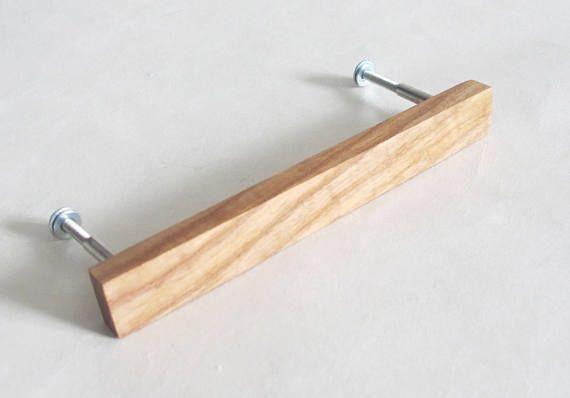 Wooden Drawer Pulls Handles, Oak Furniture Drawer Handles