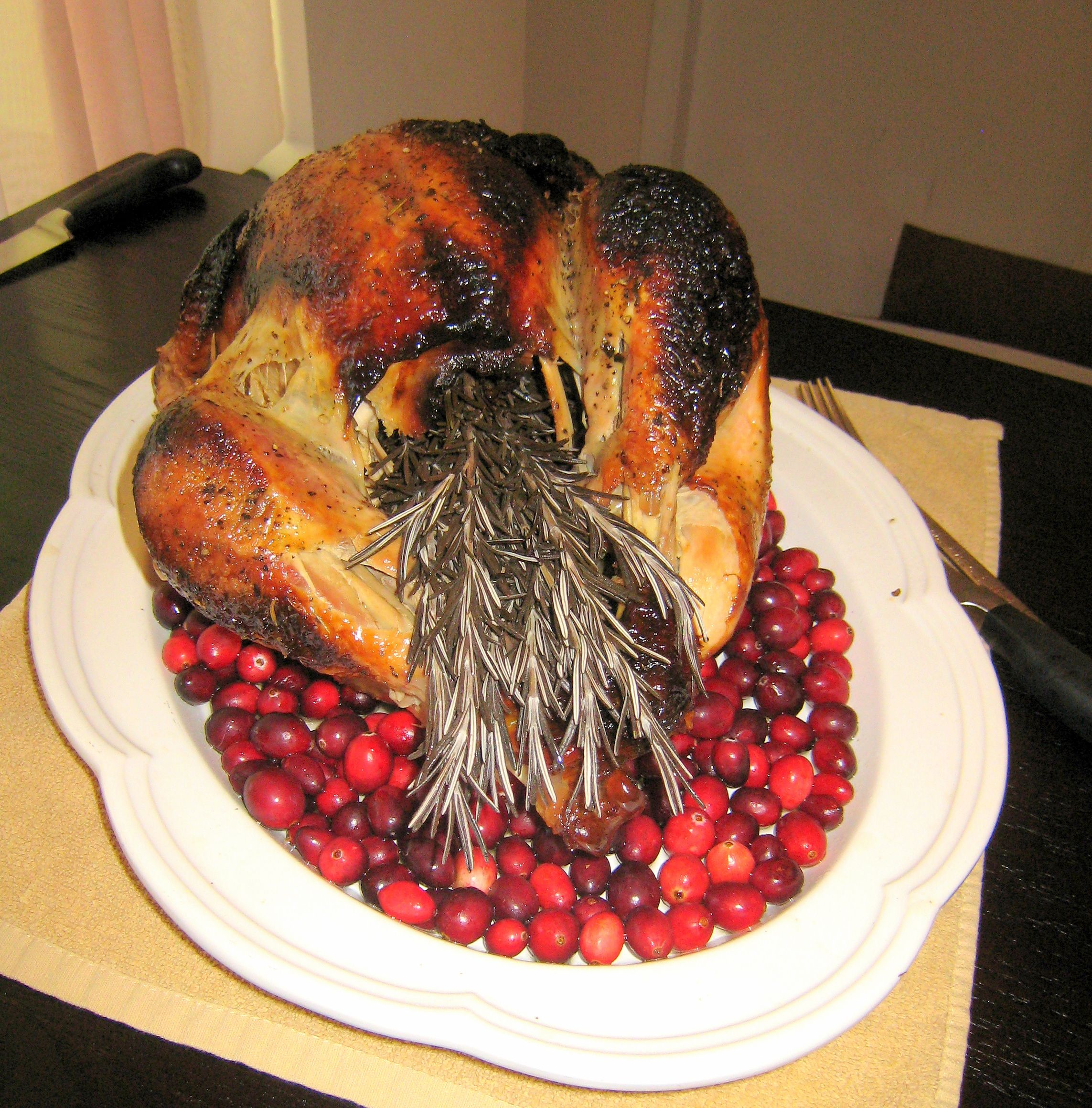 We Had Our Thanksgiving Dinner Catered By L Hermitage