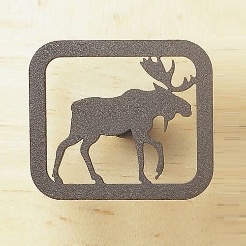 Moose Drawer Pull Bathroom Decor Accessories Rustic Kitchen
