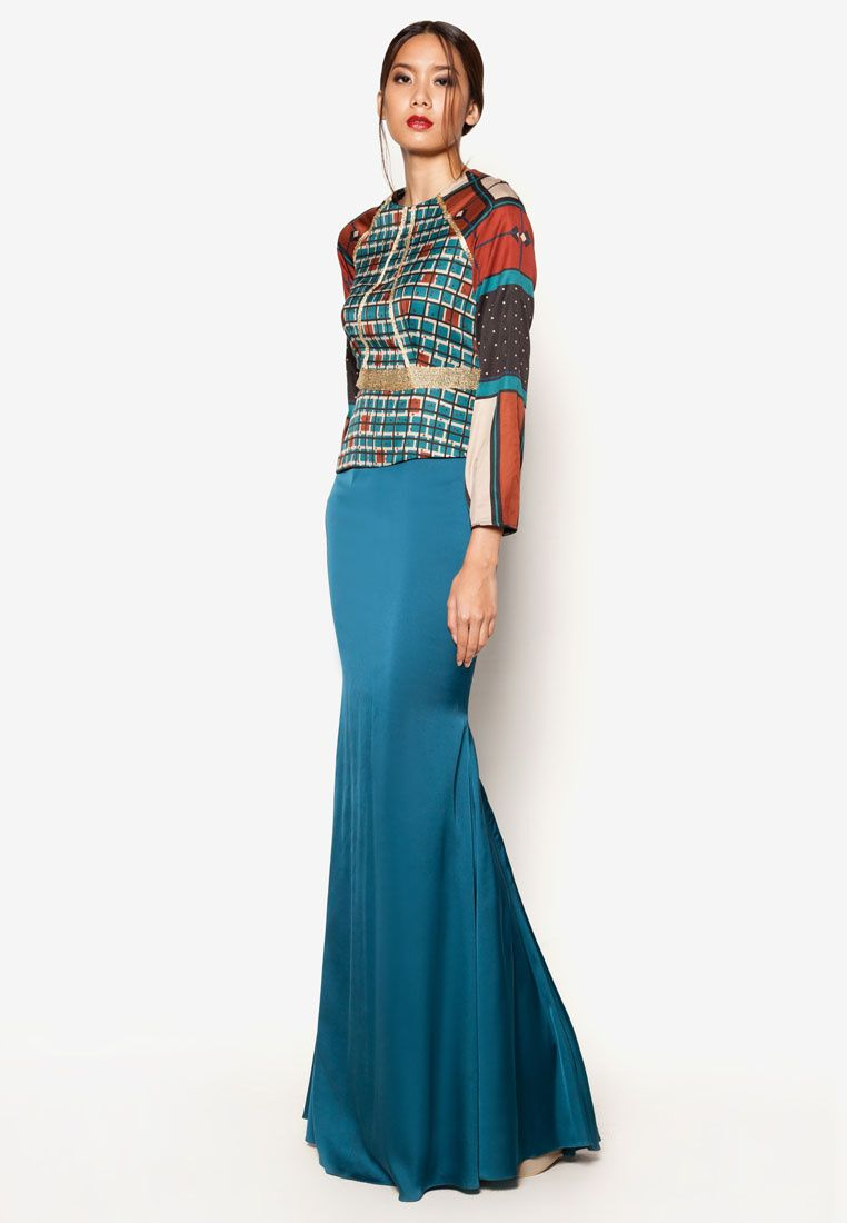Buy Jovian Mandagie for Zalora ArtDeco Ardelia Dress | ZALORA ...