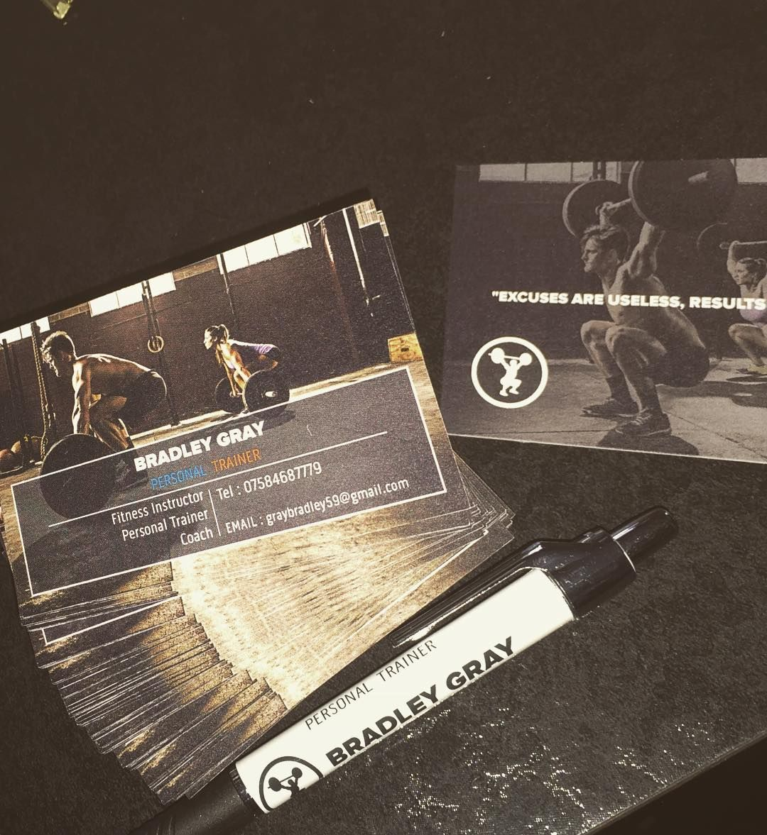 Business cards and Pen have Arrived thanks to @vistaprint ...