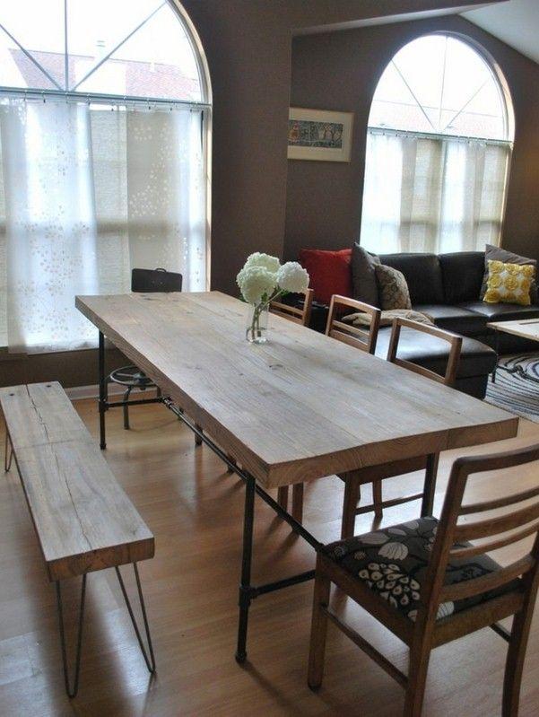 design moderne et pratique dans la salle à manger 1 table - salle a manger design moderne