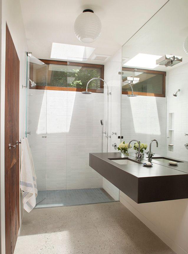 Eichler Remodel By Mediterraneo Design Build Homeadore Mid Century Modern Bathroom Modern Bathroom Modern Bathroom Vanity