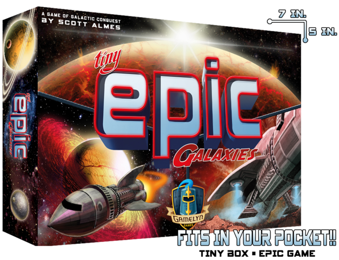 Tiny Epic Galaxies The Universe In Your Pocket! by