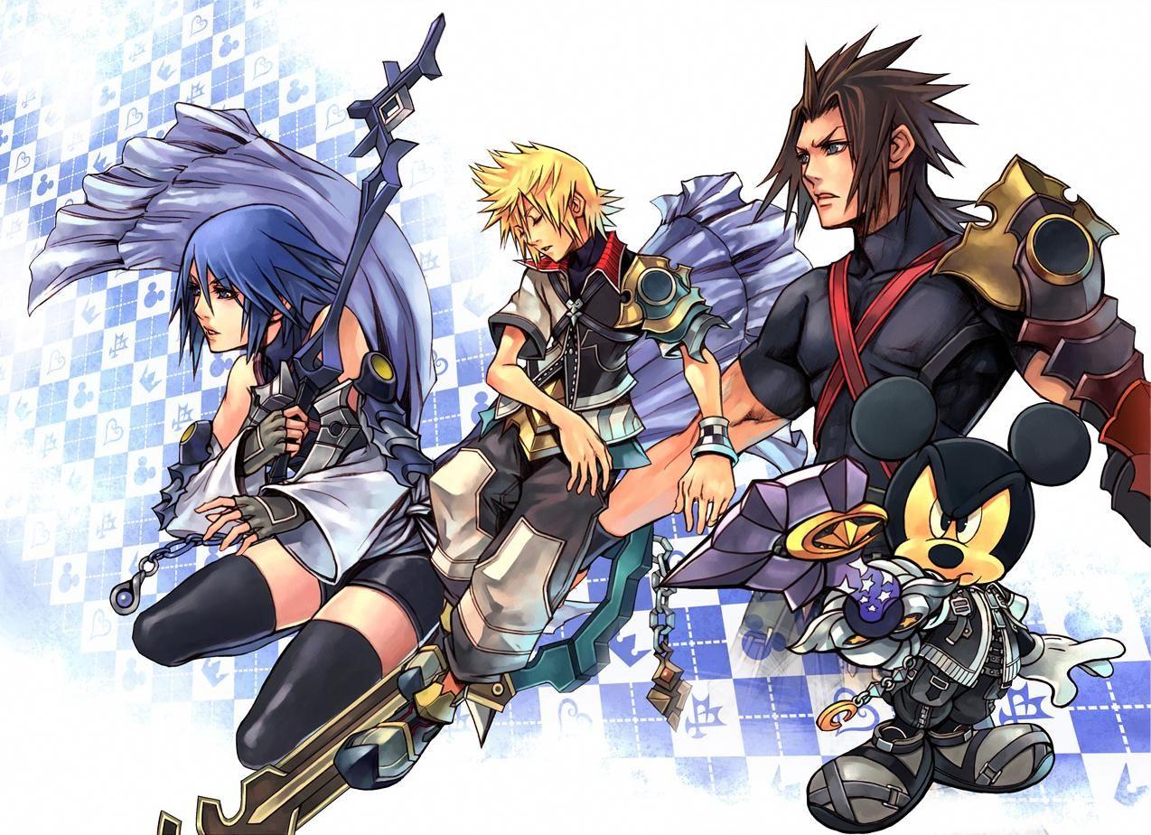 Kingdom Hearts Birth By Sleep Final Mix Kingdom Hearts Wallpaper