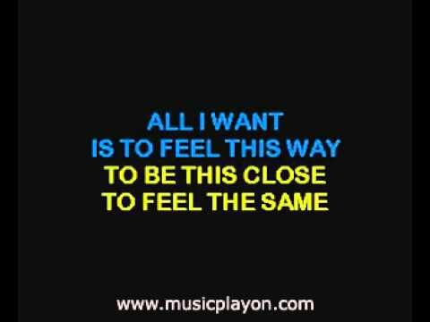 Toad The Wet Sprocket All I Want Musicplayon Com Karaoke Toad The Wet Sprocket Karaoke All I Want