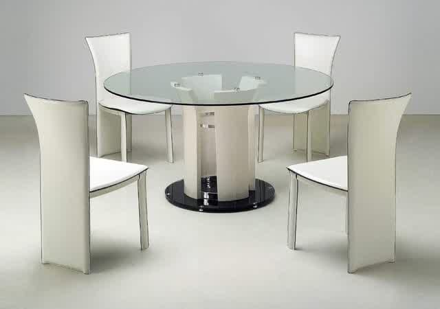 Houzz Glass Dining Room Tables Ideas For The House Glass Round