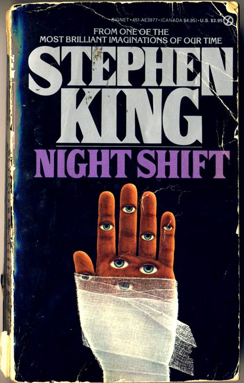 Image result for book cover night shift stephen king