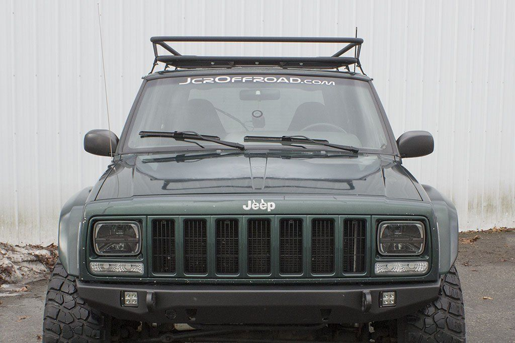 JcrOffroad Prerunner Roof Rack Jeep Cherokee XJ (8401