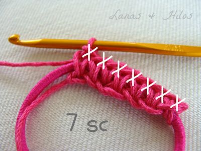 Using an elastic band in a crocheted headband  7ceed3ad7bd