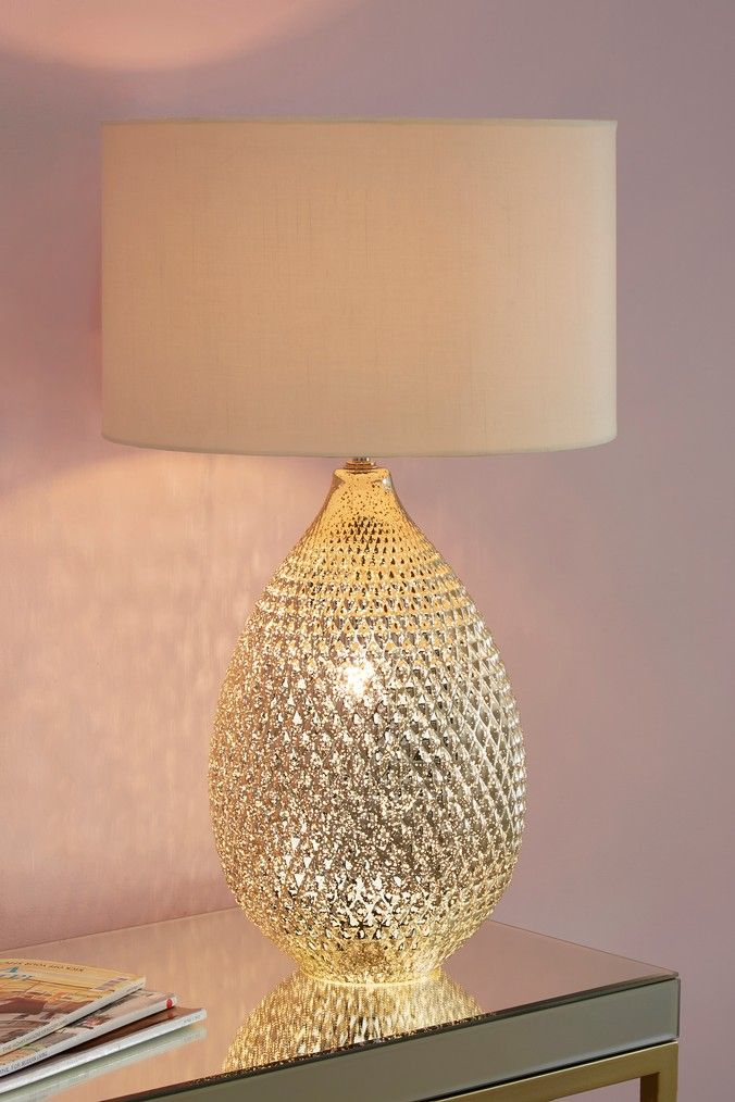 Next Glamour Table Lamp Gold Gold Table Lamp Living Room