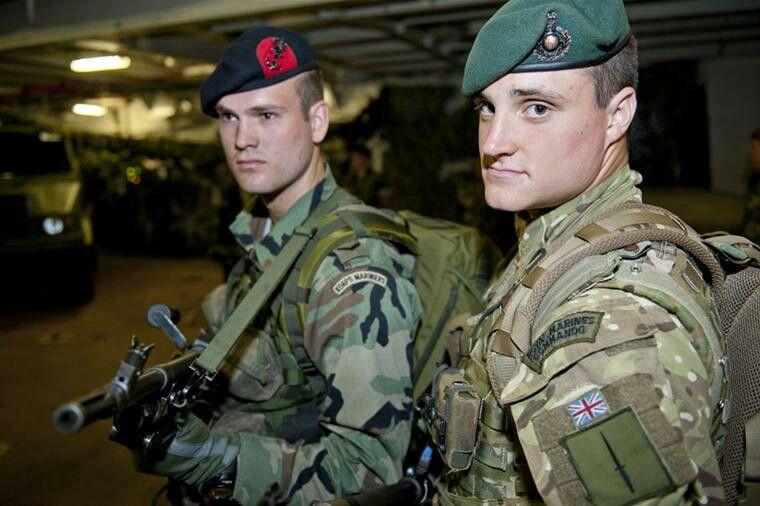 Dutch And British Marines Modern Warfare Pinterest