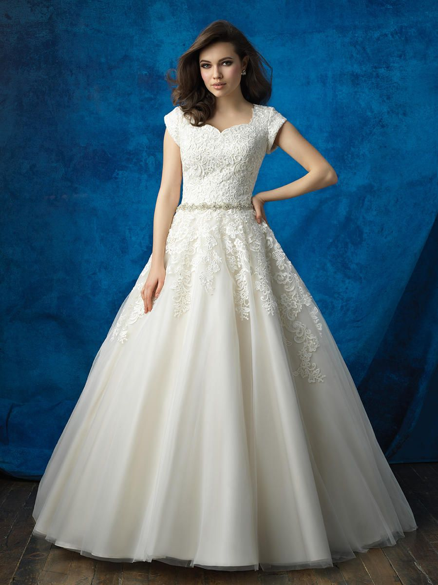 super popular size 40 many styles Allure Modest Bridal Dress Collection | Alexandra's Boutique ...