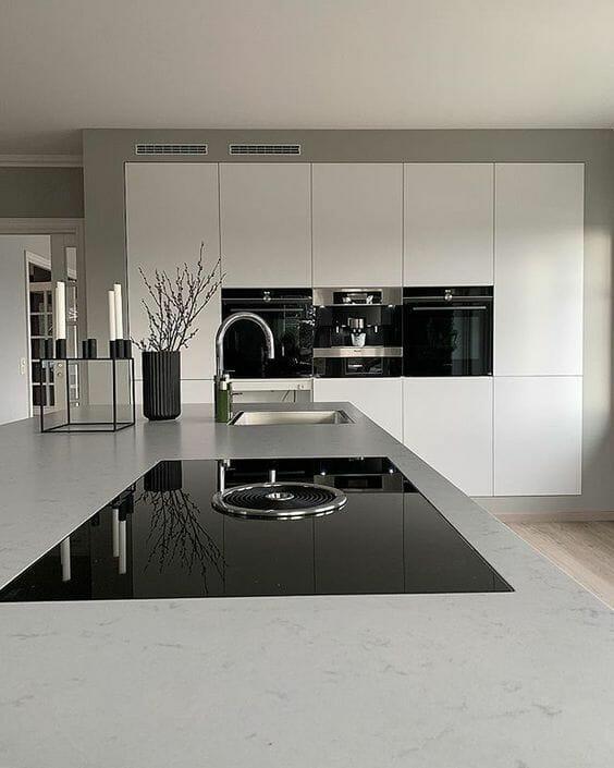 Nowoczesna Kuchnia Z Wyspa Jak Ja Zaplanowac Poradnik Homelook Kitchen Room Design Kitchen Inspiration Design Modern Kitchen Design