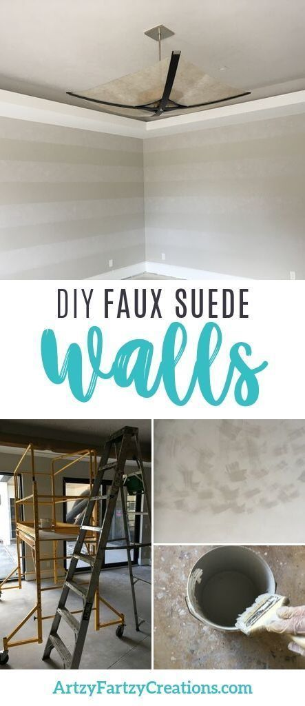 DIY expert Cheryl Phan explains how to paint faux suede walls using inexpensive materials. Learn how to get this modern, clean finish for your walls!  #suede #fauxwalls #diyhomedecor