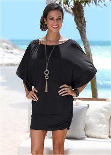 Strandkleid aus Badequalität, bpc selection, schwarz Bademode,  Strandkleider, Erschwingliche Mode 3c1e2ecba4