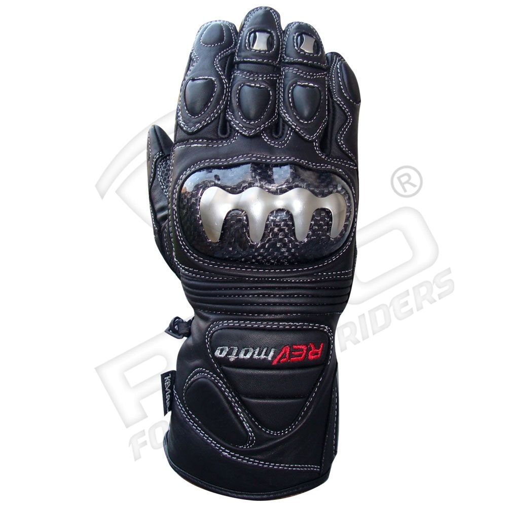 Leather motorcycle gloves best - Motorbike Gloves Made With Best Material Available Sizes S M L