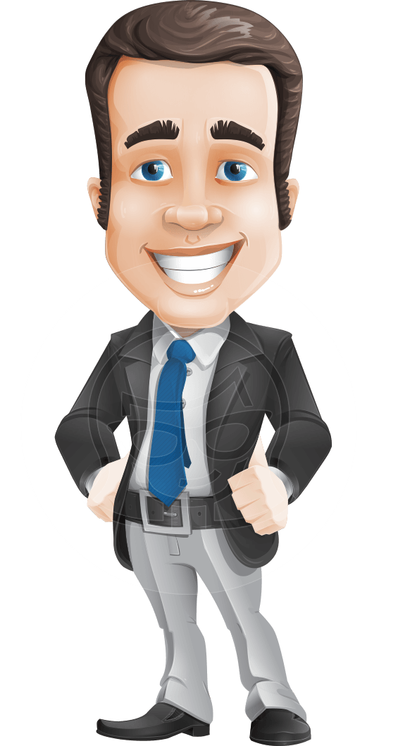 Vector Male Business Cartoon Character Graphicmama Business Icon Business Cartoons Character Design Male
