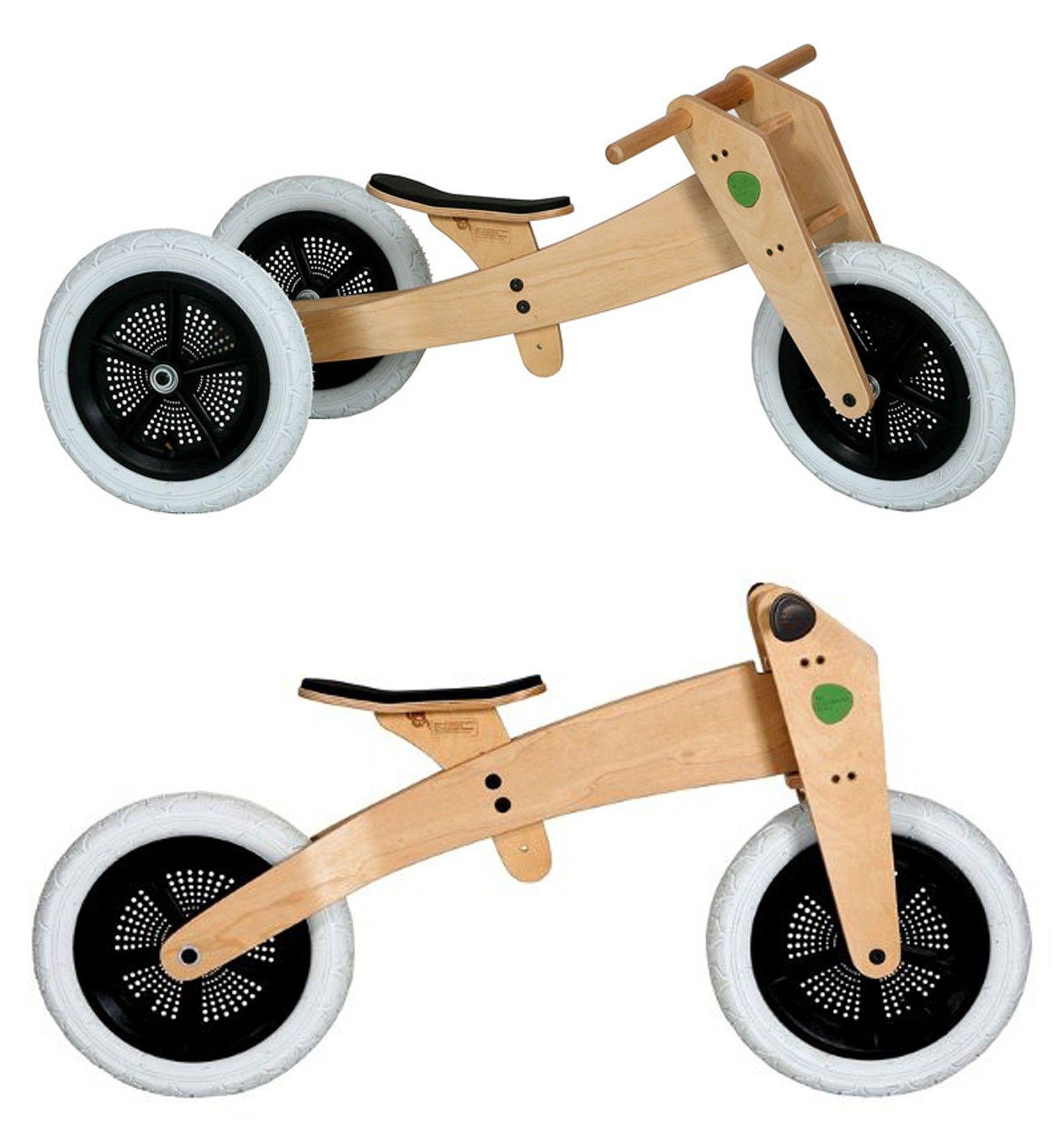 3 in 1 wooden bike original balance bike bike trike kits
