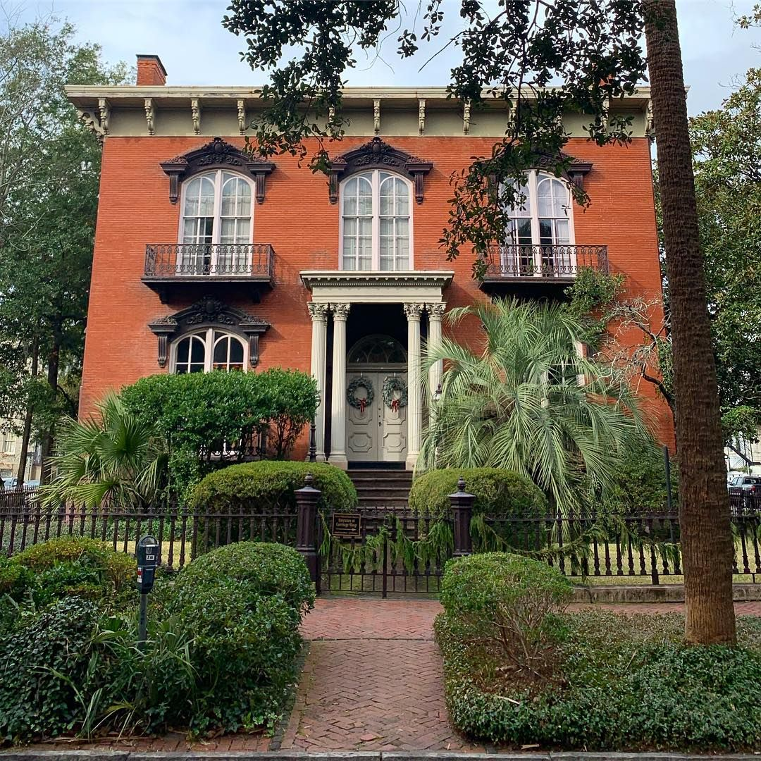 Southern Reverie On Instagram The Mercer House Also Known As The
