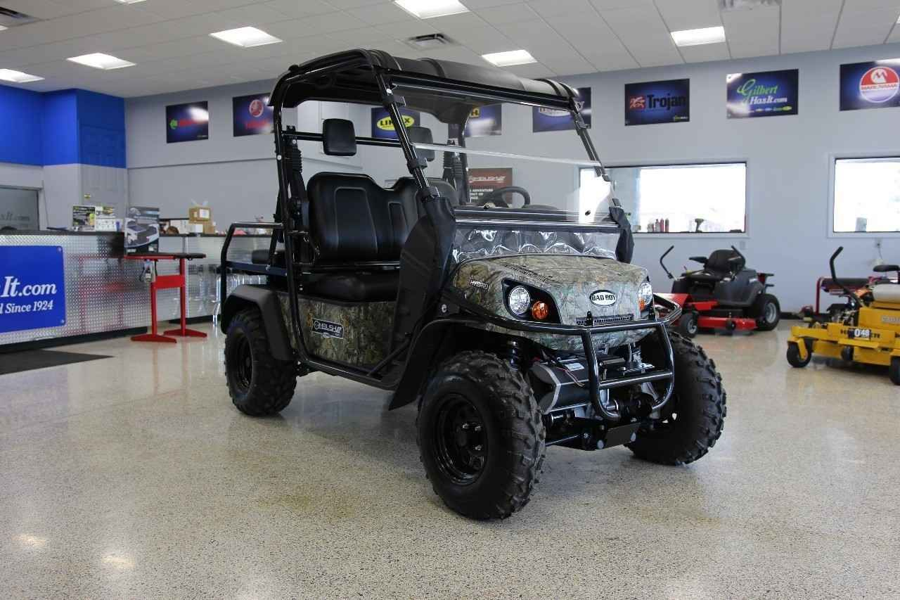 New 2017 Bad Boy Off Road Ambush IS 4 Passenger ATVs For Sale in Florida. 4WD Gas/Electric HybridLocking Front and Rear DifferentialsFour-Wheel Independent SuspensionTwo Forward-Facing Seats and Two Rear-Facing Seats That Convert Into a Cargo Deck