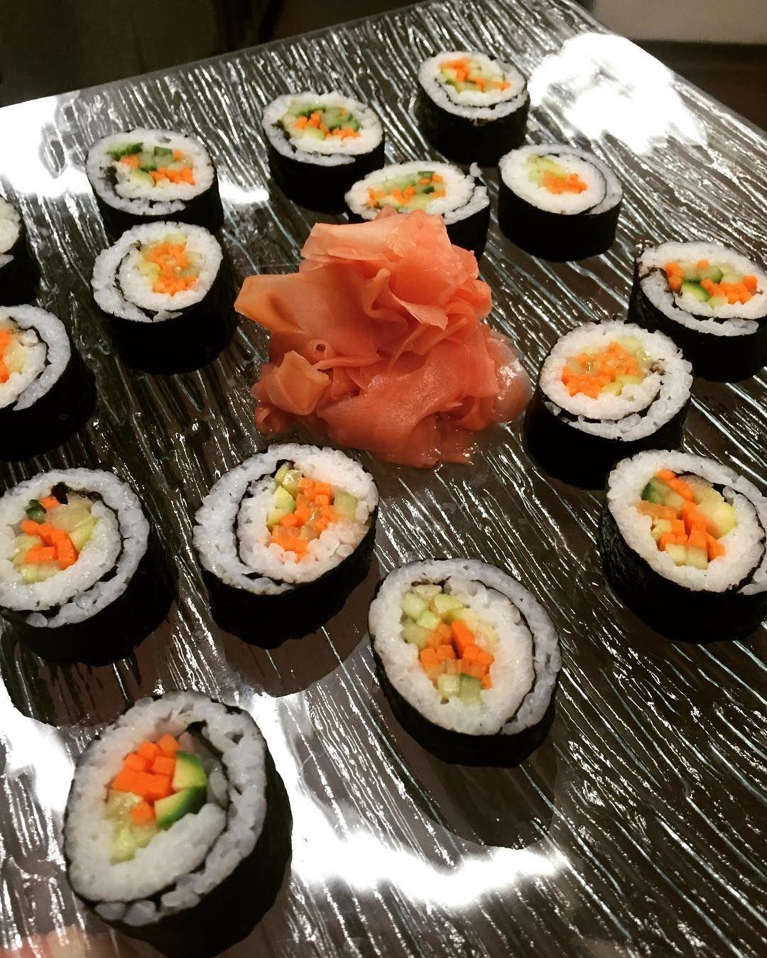 Veggie Maki Rolls | Blue Heron Catering | Western MA ...