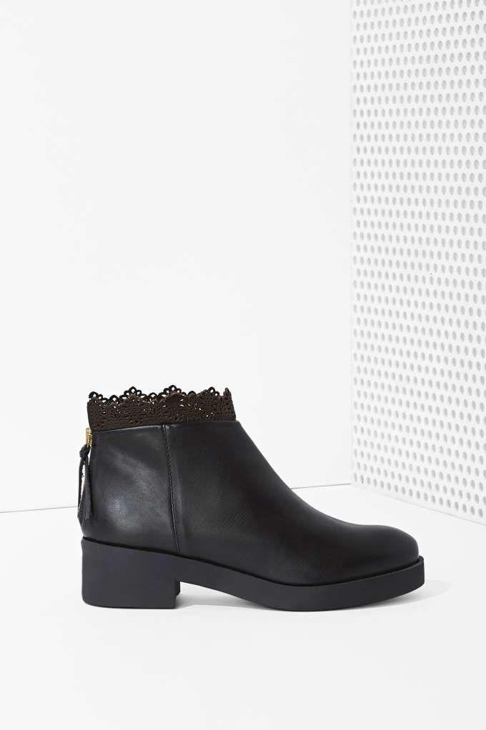 8692683aed09 Miista Jeanine Leather Boot   Fashion!!!   Zapatos botines, Zapatos ...