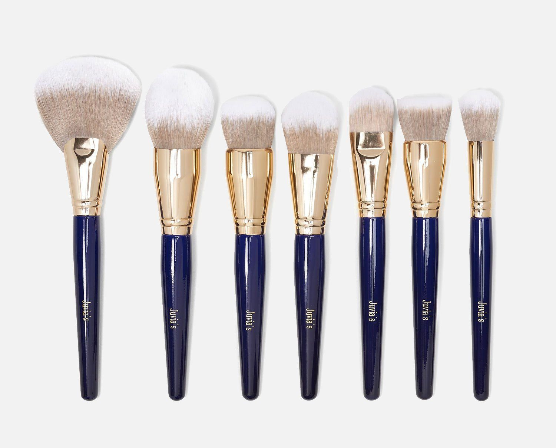 7pcs Royal Brush Set In 2020 Brush Set Makeup Brush Set Professional Liquid Foundation Brush
