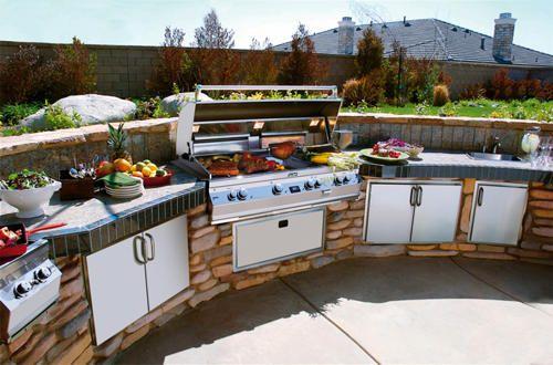 Bbq Grill Outdoor Kitchen Cabinets Outdoor Kitchen Appliances Backyard Kitchen